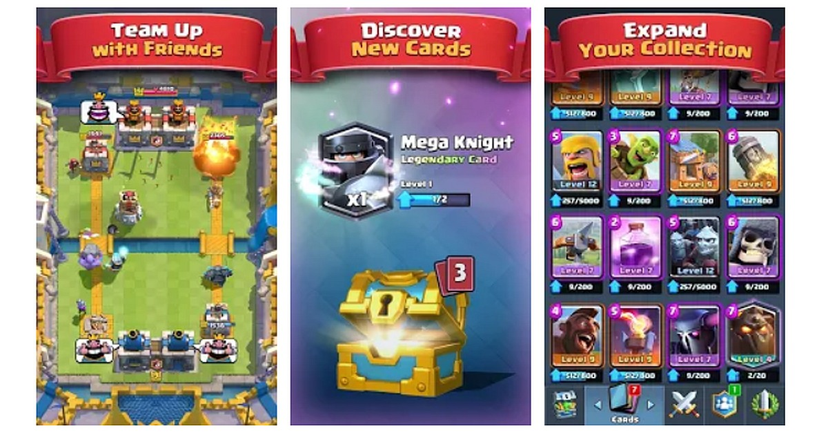 Download Clash Royale for Huawei